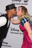Shemar Moore, Kirsten Vangsness — Stock Photo