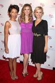 Angel Parker, Brianna Brown, Sara Wells — Stock Photo