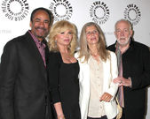 Tim Reid, Loni Anderson, Jan Smithers, Howard Hesseman — Stock Photo