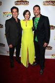 Andy Blankenbueler, Diana DeGarmo, Ace Young — Stock Photo