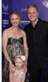 Rebecca Gayheart-Dane, Billie Beatrice Dane, Eric Dane — Stock Photo