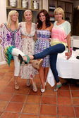 Katherine Kelly Lang, Eileen Davidson, Heather Tom, Arianne Zucker — Stock Photo