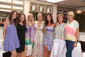 Crystal Chappell, Katherine Kelly Lang, Eileen Davidson, Heather Tom, Arianne Zucker, Hilliary B. Smith, Michelle Stafford — Photo