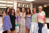 Crystal Chappell, Katherine Kelly Lang, Eileen Davidson, Heather Tom, Arianne Zucker, Hilliary B. Smith, Michelle Stafford — Stock Photo