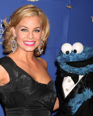 Jessica Collins, Cookie Monster — Stock Photo