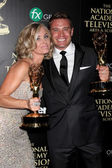 Eileen Davidson, Billy Miller — Stock Photo