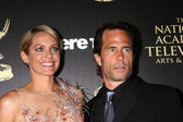Arianne ZUcker, Shawn Christian — Stock Photo