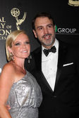 Maura West, Ron Carlivati — Stock Photo
