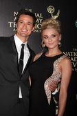 Matthew Atkinson, Hunter King — Foto de Stock
