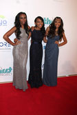 Sierra McClain, China Anne McClain, Lauryn McClain — Stock Photo