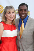Linda Hudson, Ernie Hudson — Stock Photo