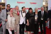 Peg Falcone, Steve Falcone, Ben Falcone, Melissa McCarthy, Michael McCarthy, Sandra McCarthy — Stock Photo