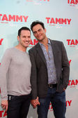 Jason Landau, Cheyenne Jackson — Stock Photo