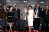Ashley Zukerman, Rachel Brosnahan, Sam Shaw, Thomas Schlamme, Olivia Williams, Daniel Stern, John Benjamin Hickey — Stock Photo