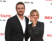 Jason Segel, Cameron Diaz — Stock Photo