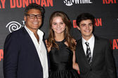 Steven Bauer, Kerris Dorsey, Devon Bagby — Stock Photo