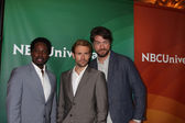 Harold Perrineau, Matt Ryan, Charles Halford — Stock Photo