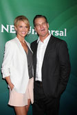Tricia Helfer, Brian Van Holt — Stock Photo