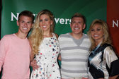 Chase Chrisley, Savannah Chrisley, Todd Chrisley, Julie Chrisley — Stock Photo