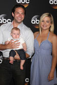 Brandon Barash, Harper Barash, Kirsten Storms — Stock Photo