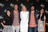 Chloe Wepper, Jake McDorman, Analeigh Tipton, Nicolas Wright, Jada Catta-Preta — Stock Photo