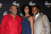 Laurence Fishburne, Tracee Ellis Ross, Anthony Anderson — Stock Photo