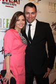 Jen Lilley, husband Jason Wayne — Stock Photo