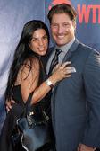 Sean Kanan, wife — Foto de Stock