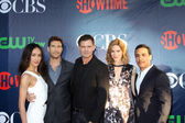Maggie Q, Dylan McDermott, Kevin Williamson, Mariana Klaveno, Victor Rasuk — Stock Photo