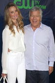 Ricki Noel Lander, Robert Kraft — Stock Photo
