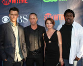 Josh Duhamel, Dean Winters, Aubrey Dollar, Edward Fordham Jr — Stock Photo