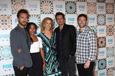 Tom Mison, Nicole Beharie, Heather Kadin, Len WIseman, Mark Goffman — Foto de Stock