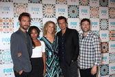 Tom Mison, Nicole Beharie, Heather Kadin, Len WIseman, Mark Goffman — Stockfoto