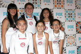 Top Chef Junior Contestants — Foto de Stock