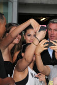 Selena Gomez, Fans — Stock Photo