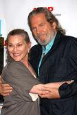 Susan Bridges, Jeff Bridges — Fotografia Stock