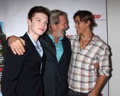 Cameron Monaghan, Jeff Bridges, Brenton Thwaites — Stock Photo