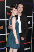 Valorie Curry, Sam Underwood — Stock Photo