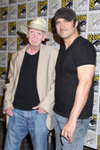 Frank Miller, Robert Rodriguez — Stock Photo