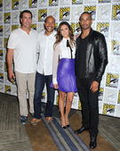 Rob Riggle, Keegan-Michael Key, Daman Wayans Jr, Nina Dobrev — Stock Photo