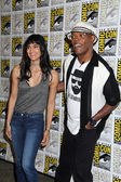 Sofia Boutella, Samuel L. Jackson — Stock Photo