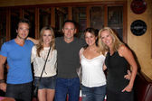 Ryan Carnes, Kelly Sullivan, WIlliam deVry, Nancy Lee Grahn, Rebecca Staab — Stock Photo