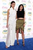 Kendall jenner, kylie jenner — Foto de Stock