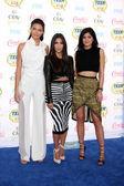 Kendall Jenner, Kim Kardashian, Kylie Jenner — Foto de Stock
