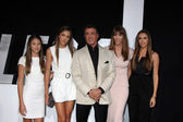 Sylvester Stallone, Jennifer Flavin, family — Stock Photo