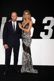 Jason Statham, Rosie Huntington-Whiteley — Stock Photo
