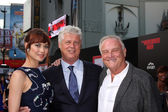 Olga Kurylenko, Roger Donaldson, Bill Smitrovich — Stock Photo