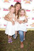 Rebecca Gayheart, Georgia Dane, Billie Beatrice Dane — Stock Photo