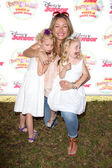 Rebecca Gayheart, Georgia Dane, Billie Beatrice Dane — Stock Photo