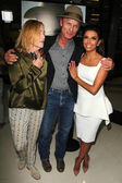 Amy Madigan, Ed Harris, Eva Longoria — Stock Photo